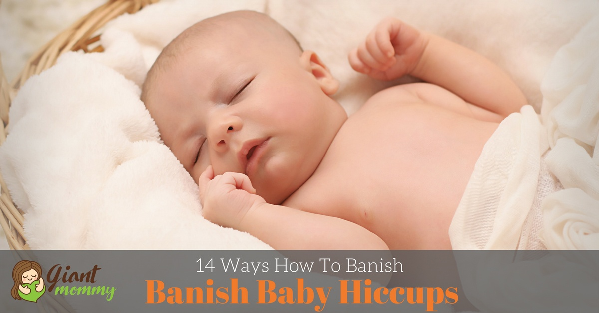 how to get rid of baby hiccups