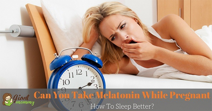 can you take melatonin while pregnant