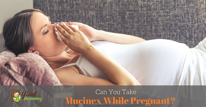can you take Mucinex while pregnant