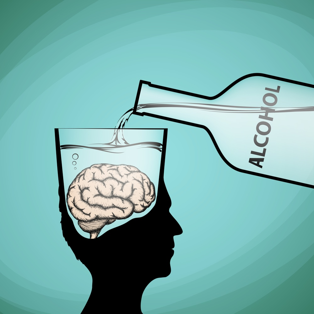 alcohol brain